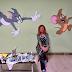 Mlada lukavačka umjetnica Zehrina Karić muralima oslikala i uljepšala zidove Klinike za dječije bolesti UKC-a Tuzla: 'Hvala svima koji su bili uz mene i dali mi podršku!'