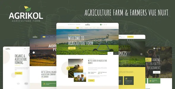Best Template For Agriculture Farms