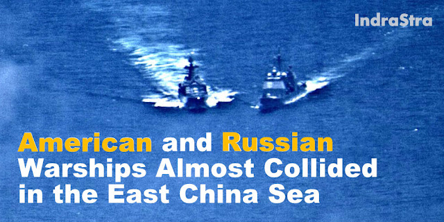 American and Russian Warships Almost Collided in the East China Sea