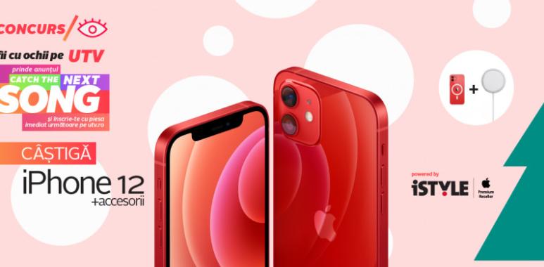 Concurs UTV - Castiga un iPhone 12 - castiga.net