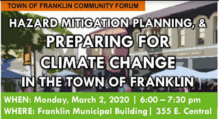Community Forum to Address Preparedness For Climate Impacts And Hazard Mitigation Plan