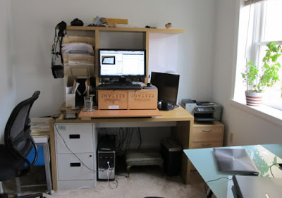 My new standing desk workstation