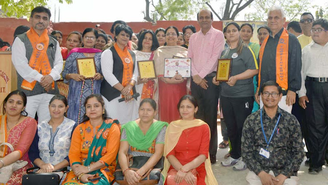 31 Ladies Awarded Honorable Ladli Honor in Faridabad