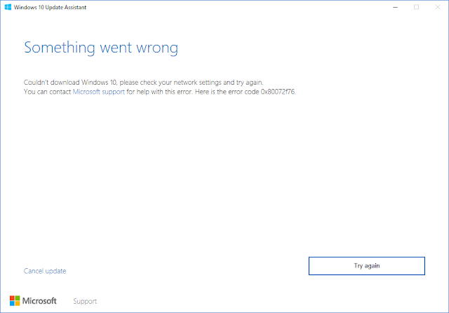 Solutions to fix Media Creation Tool Error 0x80072f76 0x20016 Install Windows 10