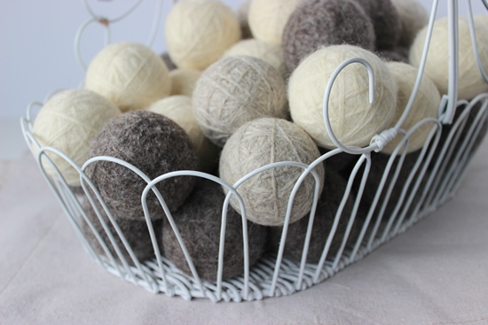How to make wool dryer balls, save time and save money on your electricity bill! www.simpleispretty.com