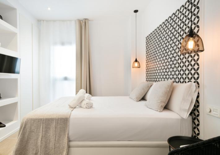 Un encantador hotel de apartamentos en Sitges