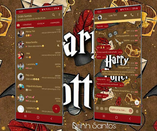 Harry Potter Theme For YOWhatsApp & Fouad WhatsApp By Driih Santos