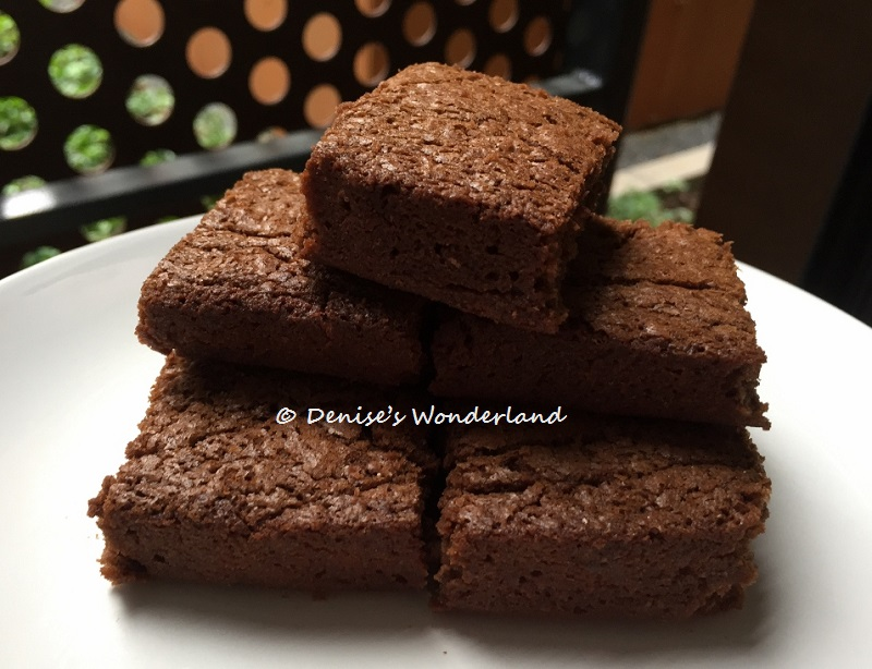3 ingredients Nutella brownies