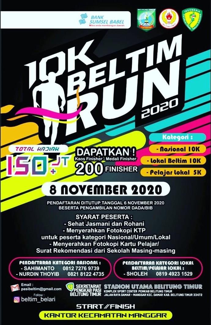 10K Beltim Run • 2020