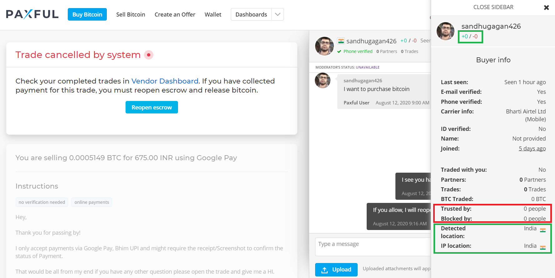 Avoid Scammers On Paxful