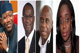 SHOCKING: Fashola, Amaechi, Adeosun, 27 Other Ministers In CCB Trouble Over Uncleared Assets, Face Probe; See Full List