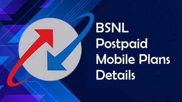 BSNL Postpaid Mobile Plans