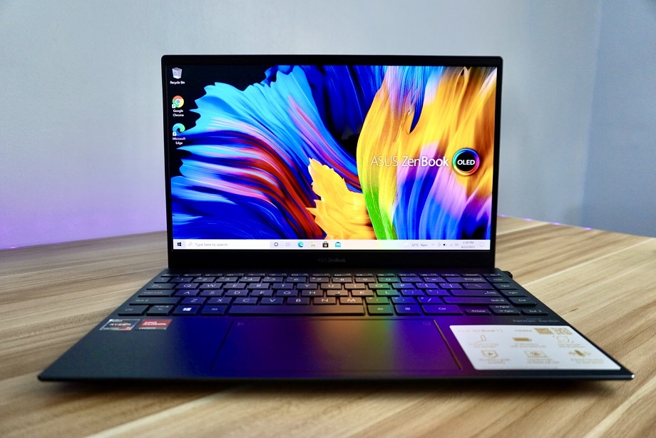 ASUS Zenbook 13 UM325 OLED Review: Battery Performance