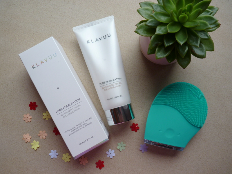 Klavuu - Pure Pearlsation Revitalizing Facial Cleansing Foam - azjatycka super pianka