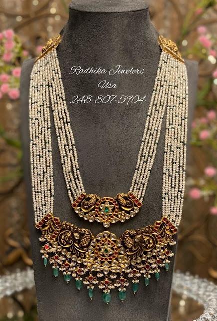Basara Pearls set with Vishnu Pendant