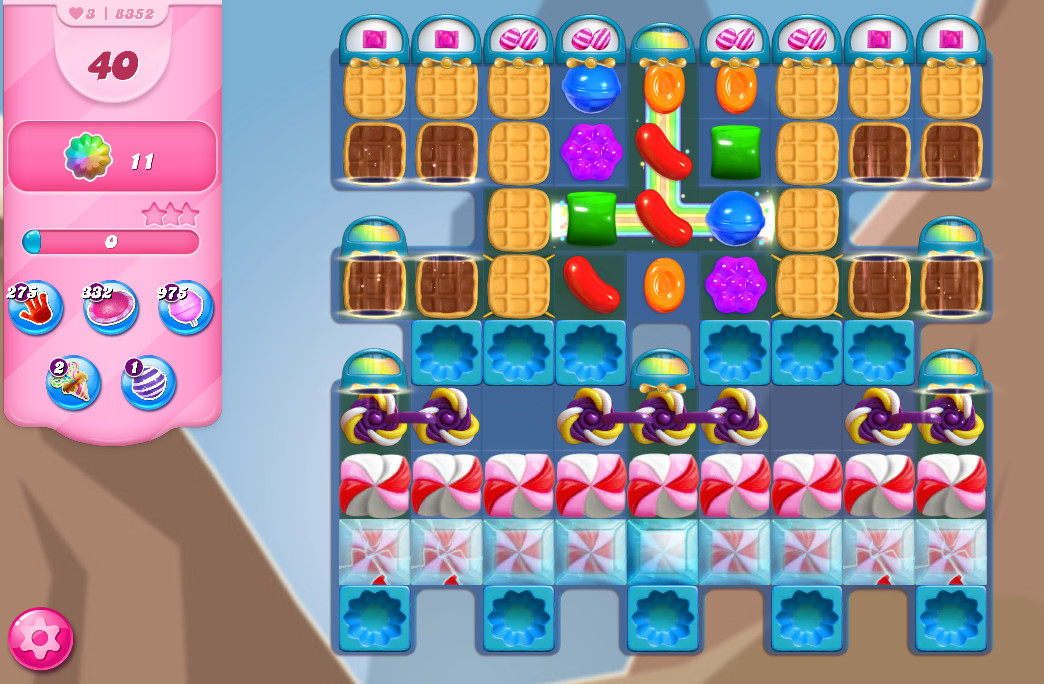 Candy Crush Saga level 8352
