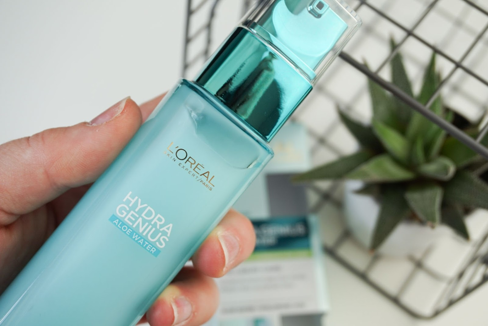 Hydra Genius Aloe Water - The New Product From L'Oreal You Need On Your Dresser