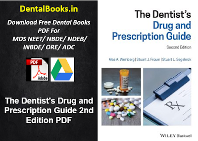 The Dentist's Drug and Prescription Guide 2nd Edition PDF