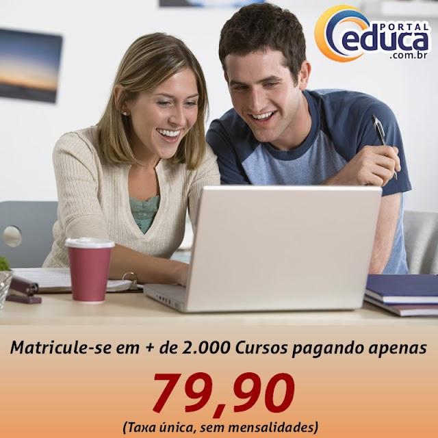 CURSO ONLINE COM CERTIFICADO - PORTAL EDUCA