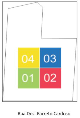 São os apartamentos com terminações zero dois (02) que têm 92 metros quadrados
