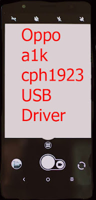 Oppo a1k cph1923 USB Driver Download
