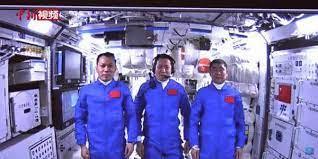 Shenzhou-12 astronauts enter space station core module