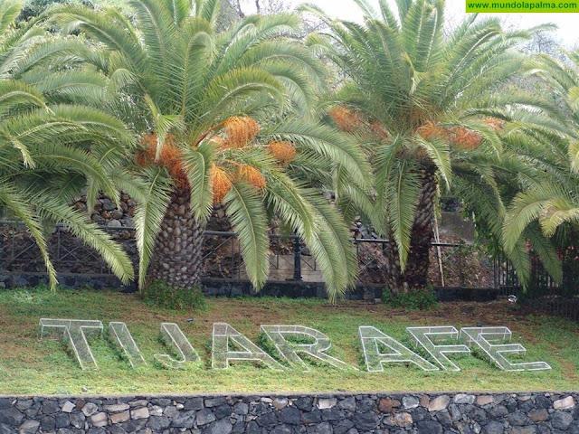 Tijarafe  se promociona en el Aeropuerto de Tenerife Norte