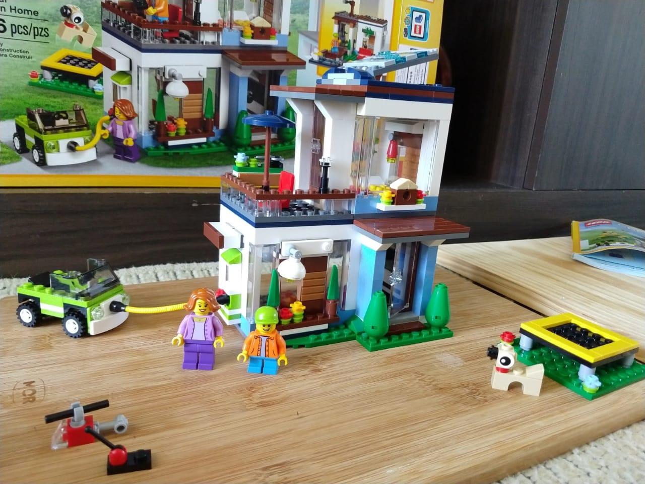 lego modular home 7