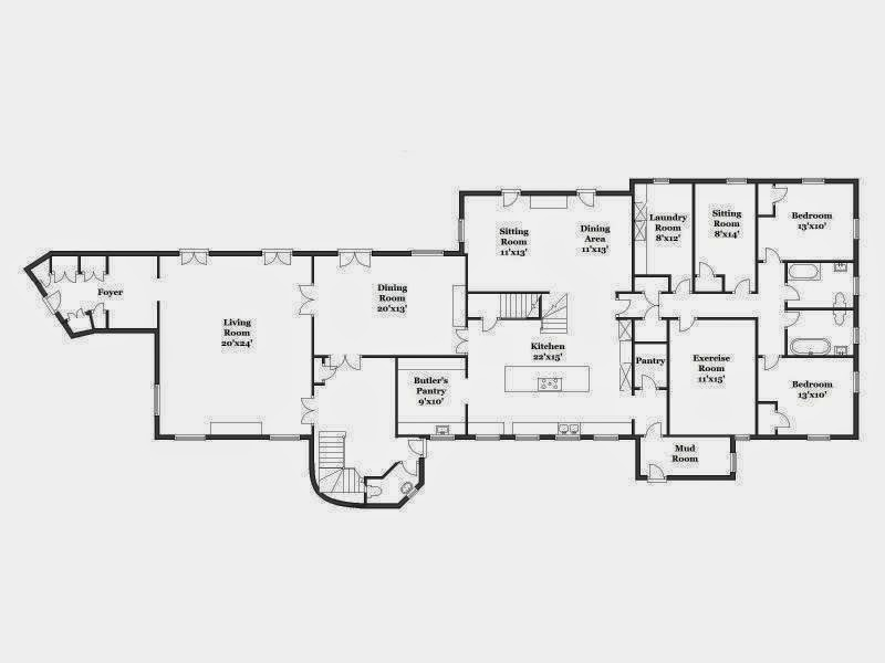 The Gilded Age Era – Meyer May House Floor Plan