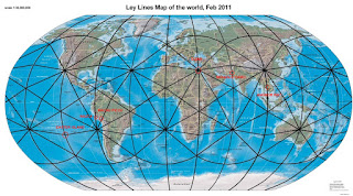 Ley-lines on Earth