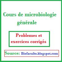 Exercices corrigés en microbiologie générale