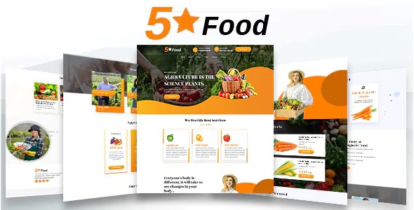 Best Food Unbounce Landing Page Template