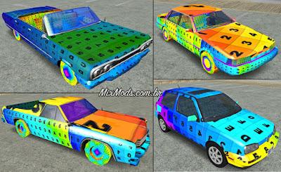 gta sa mod paintjob in any car loader uv
