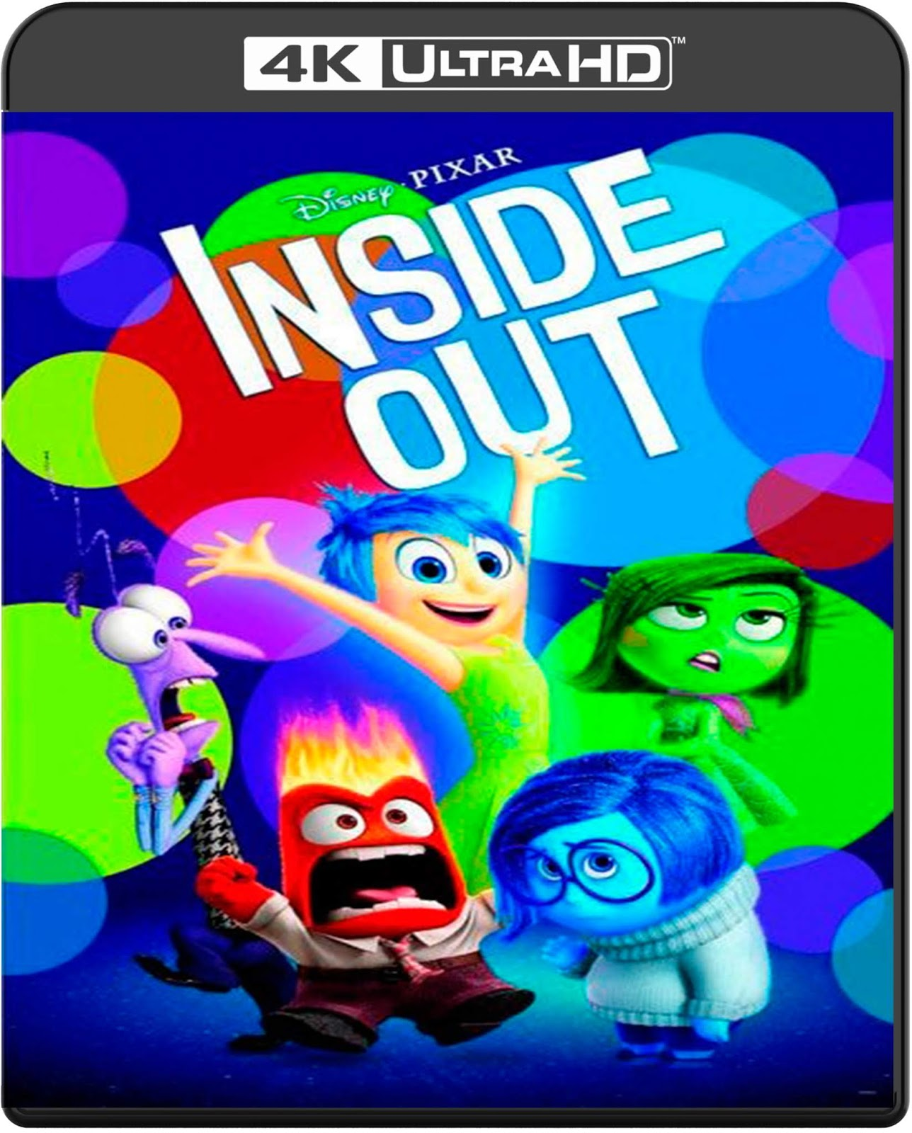 Inside Out [2015] [UHD] [2160p] [Latino]