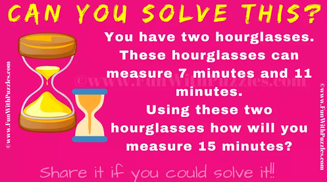 Can you solve this Hourglass puzzle?