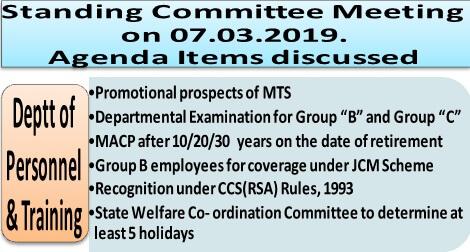standing-committee-meeting-agenda-items-dopt