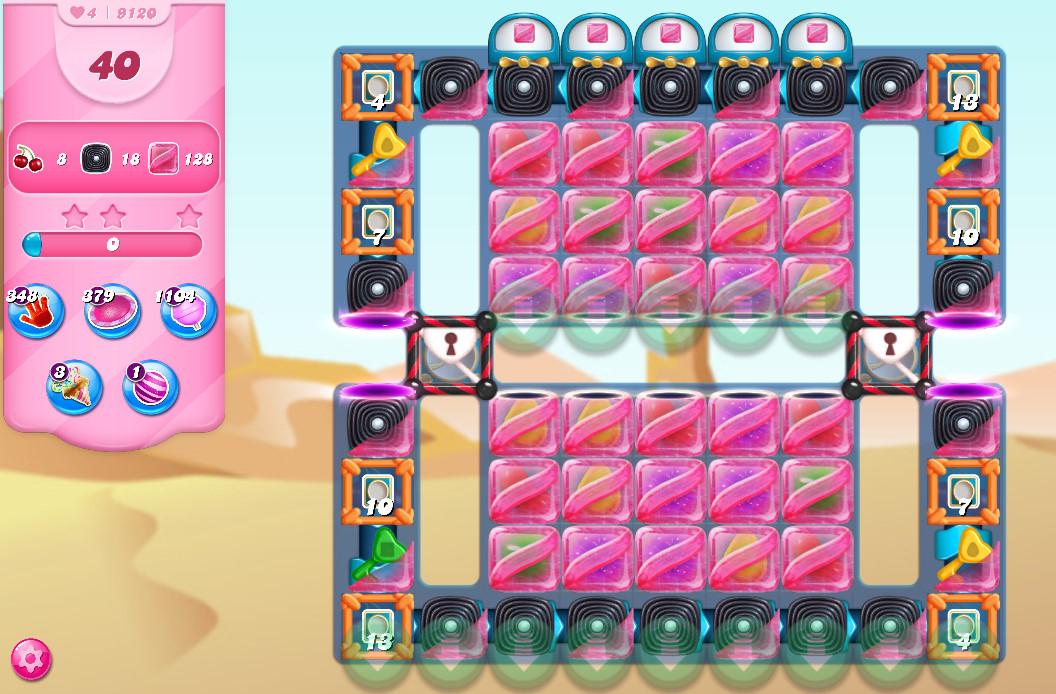 Candy Crush Saga level 9120