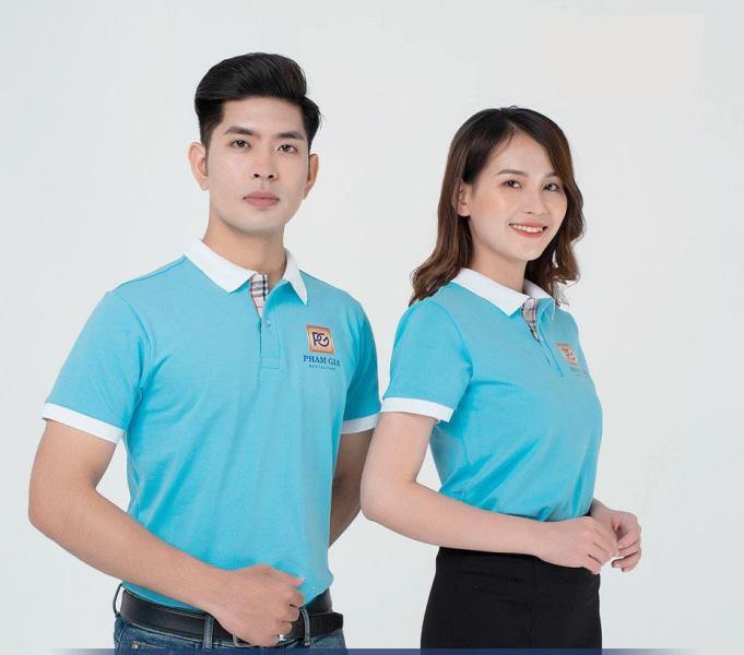 Mẫu áo thun đồng phục công ty Phạm Gia