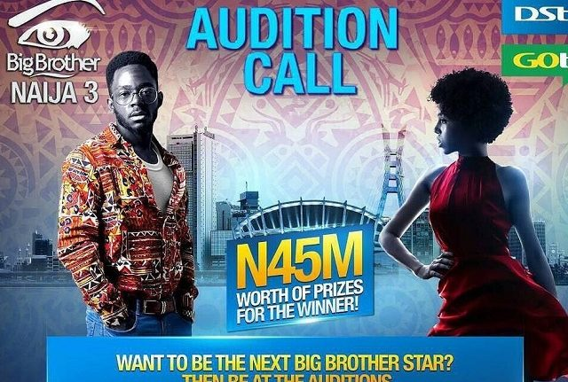 #BBNaija To Begin Audition For 3rd Edition – N45M For Grabs | Check More Details