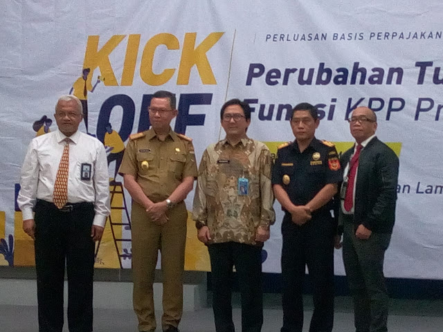 Viral Petang (02/03/2020) Bandar Lampung -- Wajib Pajak yang terdaftar pada Kantor Pelayanan Pajak Pratama mulai hari ini berpotensi ditangani oleh account representative baru sehubungan dengan adanya perubahan tugas dan fungsi KPP Pratama.