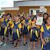 Estudantes de JP, recebem kits de material escolar da LBV