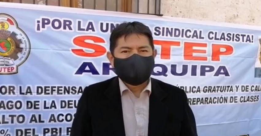 Maestros rechazan racionalización de plazas para el 2021 en Arequipa