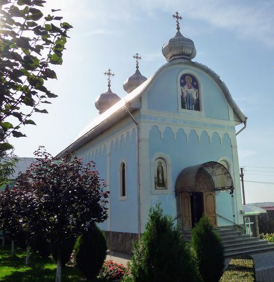 Банчени. Свято-Вознесенський монастир. Церква Покрови Пресвятої Богородиц
