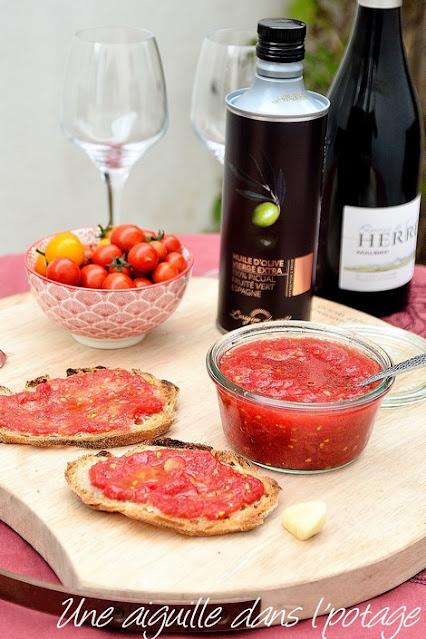 pain-tomate-tapas-ail-huile d'olive