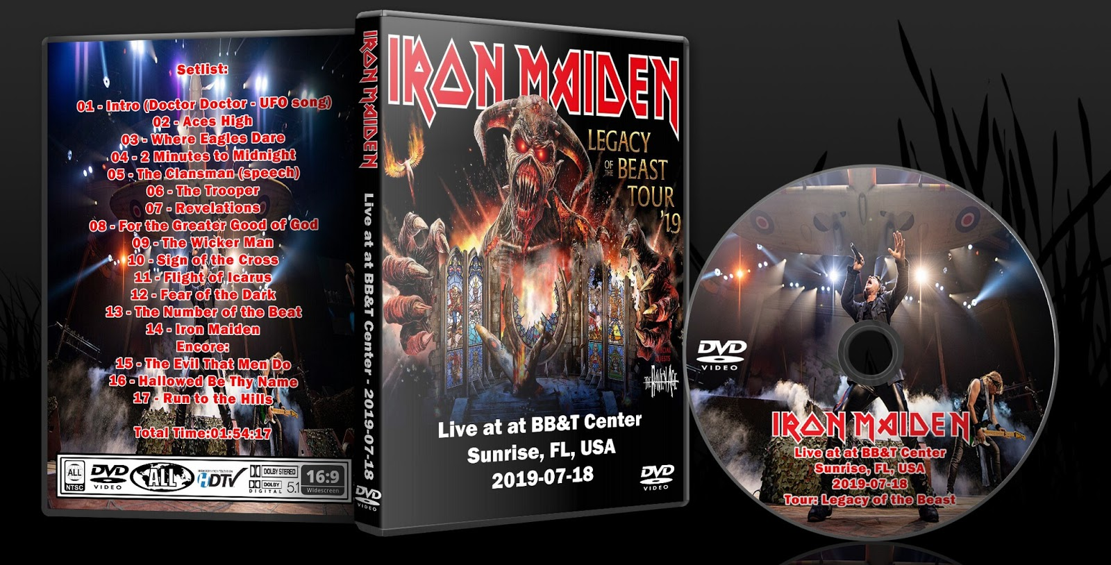 Deer5001RockCocert : Iron Maiden - 2019-07-18 - Live at at