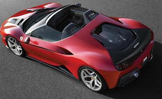 Ferrari J50, roadster edisi terbatas dengan desain yang fantastis