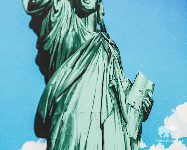 Lady Liberty. NYC, stand up!