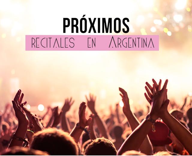 Conciertos en Argentina 2018