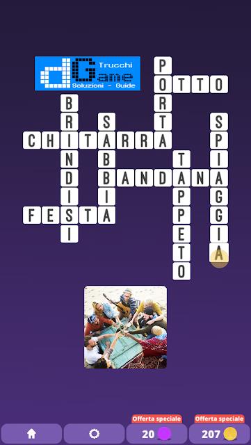 Soluzioni One Clue Crossword livello 22 schemi 12 (Cruciverba illustrato)  | Parole e foto