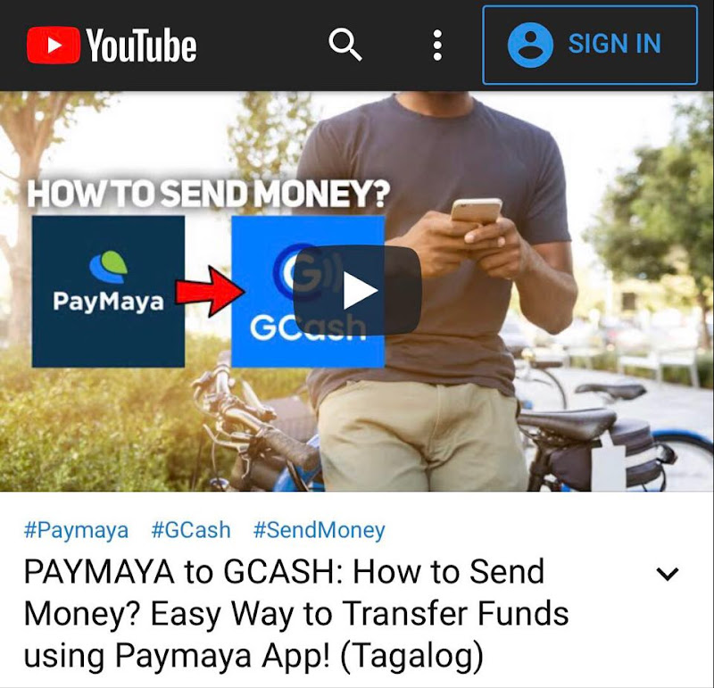 PAYMAYA to GCASH Video Tutorial